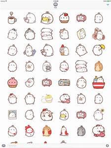 App Shopper: Stickers Molang Cartoon Rabbit Emoticons