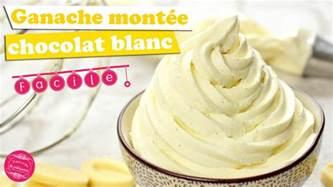 ganache mont 201 e chocolat blanc et vanille