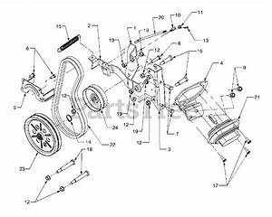 Cub Cadet Parts On The Front Pto Diagram For 3184  14a