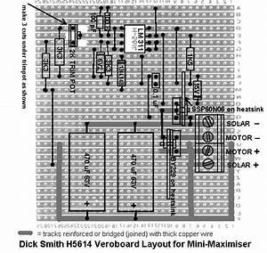 Veroboard Layout For Mini