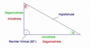 Trigonometrie Seiten Berechnen : trigonometrie am rechtwinkligen dreieck online kurse ~ Themetempest.com Abrechnung