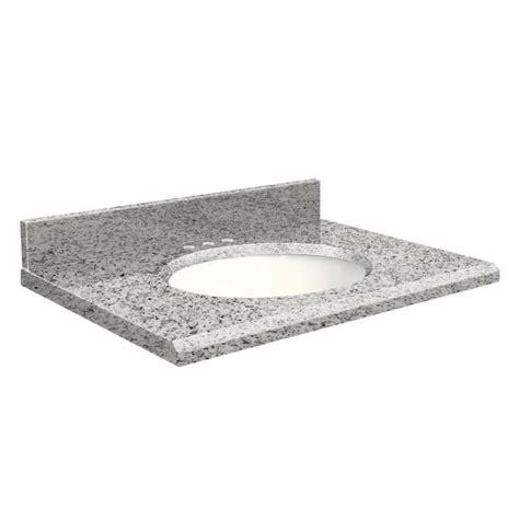 shop transolid rosselin white granite undermount single
