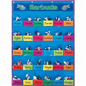 Student Park And Store Pocket Chart Classroom