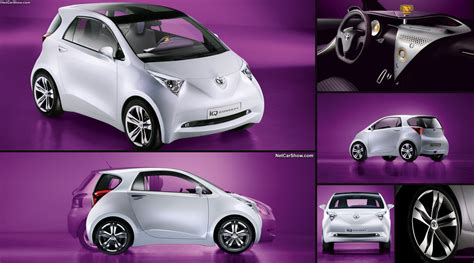 toyota iq concept  pictures information specs