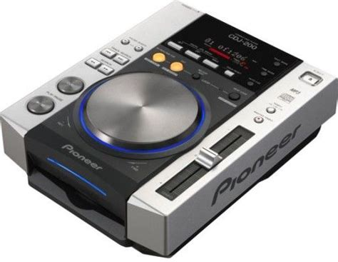 Cd Player Resume Play by Pioneer Cdj 200 Professional Cd Player Plays Mp3s Frequency Response 4hz 20khz Signal To
