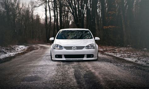Volkswagen Golf Gti Car Tuning Road Hd Wallpaper