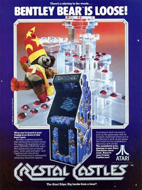 Crystal Castles Arcade Game Flyer 1983 Atari