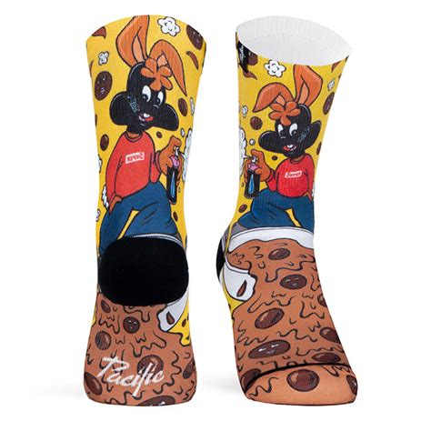 Cereal Choco choco cereal socks chocolate by venya pacific and co