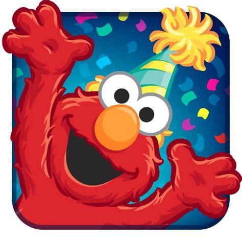 elmo birthday bash app icon mobile game ui elmo