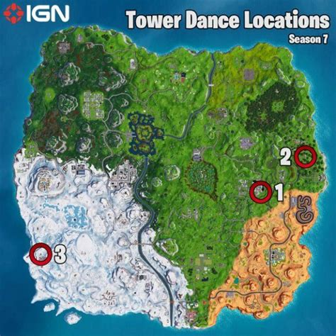 Fortnite Week 5 Challenges Tower Locations and Battle Star ...