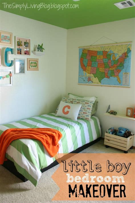 Simply Living  Little Boy Bedroom Makeover
