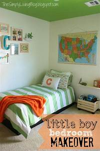 Simply living little boy bedroom makeover for Little boy bedrooms