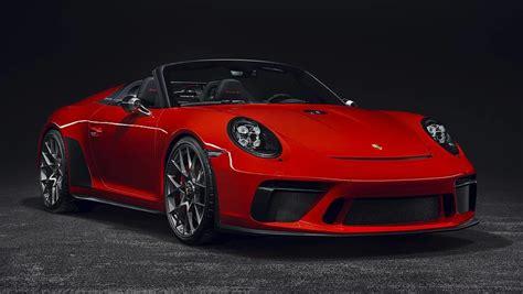 Porsche 911 Speedster 2019 Confirmed