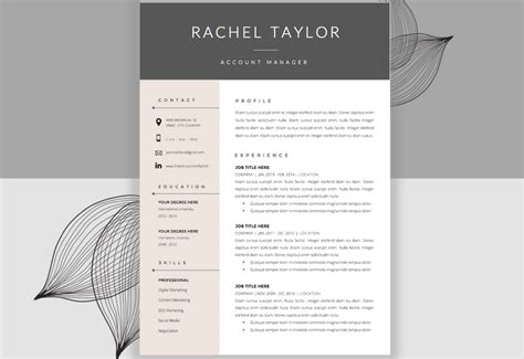 Alternative Resume Templates by The Best Cv Resume Templates 50 Exles Web Emailing
