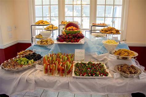 baby shower food table party ideas baby shower