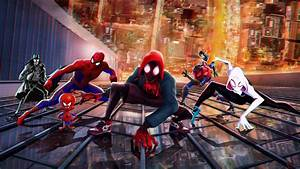 spider into the spider verse wallpapers hd