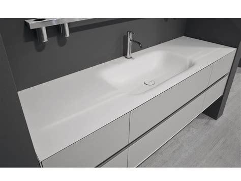 Waschbecken Aus Corian® Mit Waschtisch Segno By Antonio