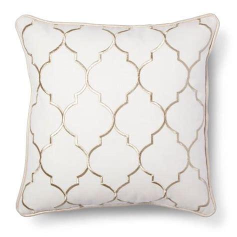 white sofa throw pillows white sofa pillows gold embroidered fret decorative pillow