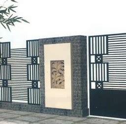 contoh gambar pagar besi minimalis modern terbaru januari