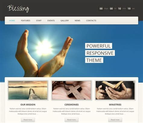 premium church wordpress themes ginva