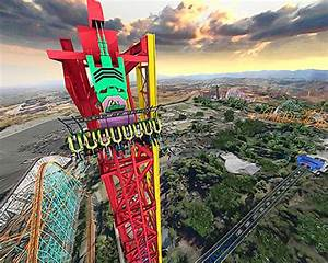 World's Tallest Vertical Drop Ride Coming To Six Flags ...
