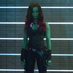 Zoe Saldana as Gamora would make an awesome Salla Zend ...