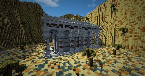 minecraft structure minecraft temple antique