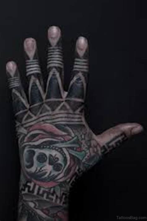 mind blowing tribal tattoos  hand