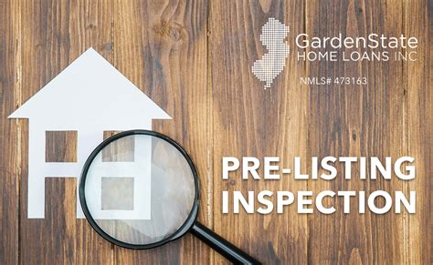 pre listing inspection garden state home loans