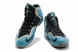 Buy Cheap New Nike Lebron James 11 Gamma Blue Black Shoes ...
