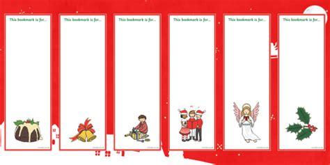 christmas template mark editable christmas bookmarks christmas xmas bookmark