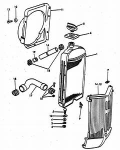 Radiator Parts For Ford 9n  U0026 2n Tractors  1939