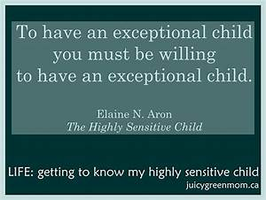 Getting to Know... Sensitive Child Quotes