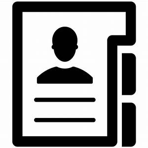 Personal Information Svg Png Icon Free Download (#85904 ...