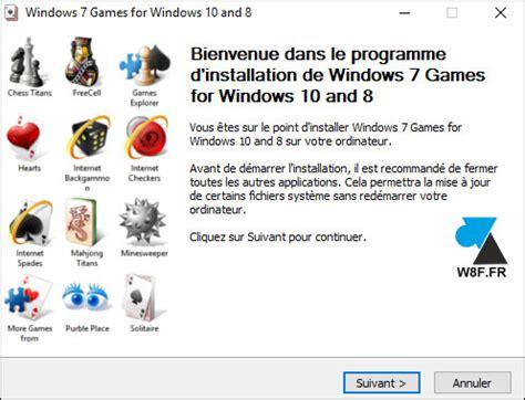 jeux application télécharger gratuit pour windows 7 2016