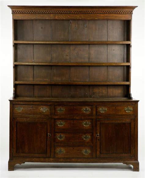 Pewter Cupboard by Antique Oak Pewter Cupboard