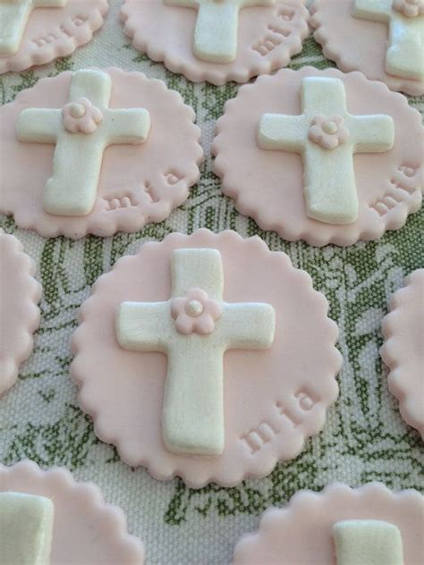 ideas  baptism cupcakes  pinterest