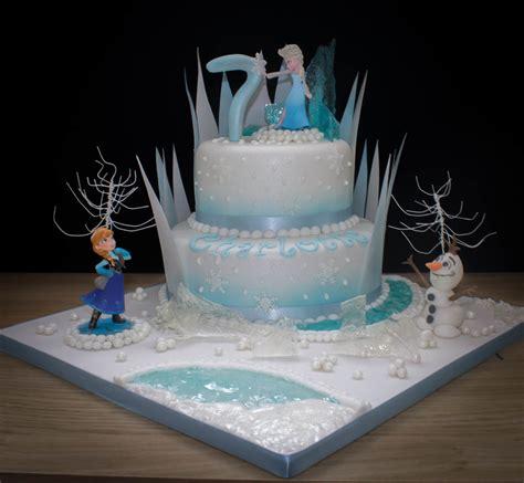 Frozen Themed Cake Cakecentralcom
