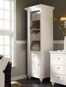 bathroom linen storage ideas a stand alone linen cabinet adds charm and much needed storage space in your bathroom
