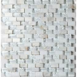 glass and stone mosaic backsplash subway tiles tea mother