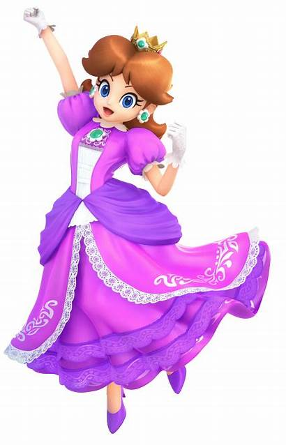 Daisy Mario Purple Tennis Alternate Outfit Princess