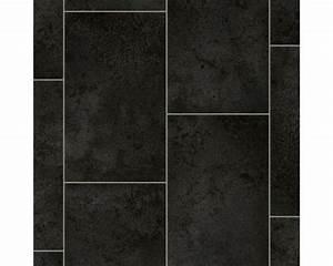 Pvc über Fliesen : pvc vaila fliese schwarz 300 cm breit meterware bei hornbach kaufen ~ Orissabook.com Haus und Dekorationen