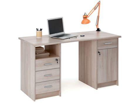 bureau pc conforama bureau 135 cm chêne monaco vente de bureau conforama