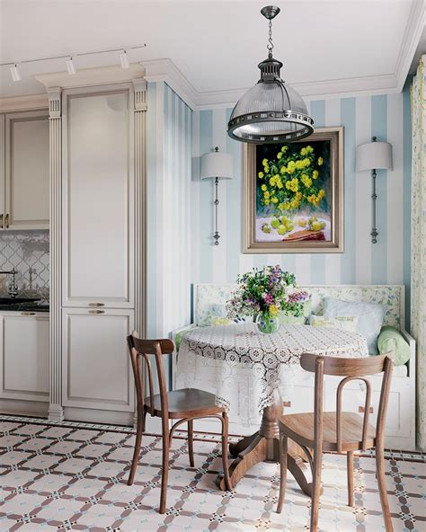 provence kitchen design three room apartment in provence style for a family with 2 1673