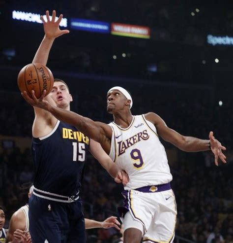 Lakers guard Rajon Rondo questionable for Game 1 vs. Rockets