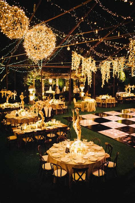 Outdoor Wedding Decorations by 33 Great Outdoor Wedding Decoration Ideas Vis Wed