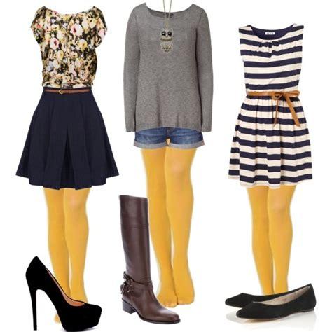 Mustard tights   {life} WARDROBE   Pinterest   Mustard Yellow tights and Clothes