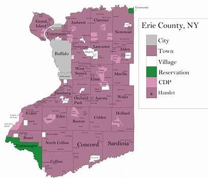 Erie County Map York Wikipedia Commons Wikimedia