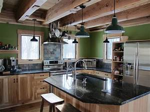 rustic industrial farmhouse kitchen for the home With kitchen colors with white cabinets with p 51 mustang wall art