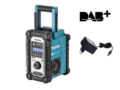 makita radio dab radio makita makita dmr110 bouwradio adaptor fm band aux